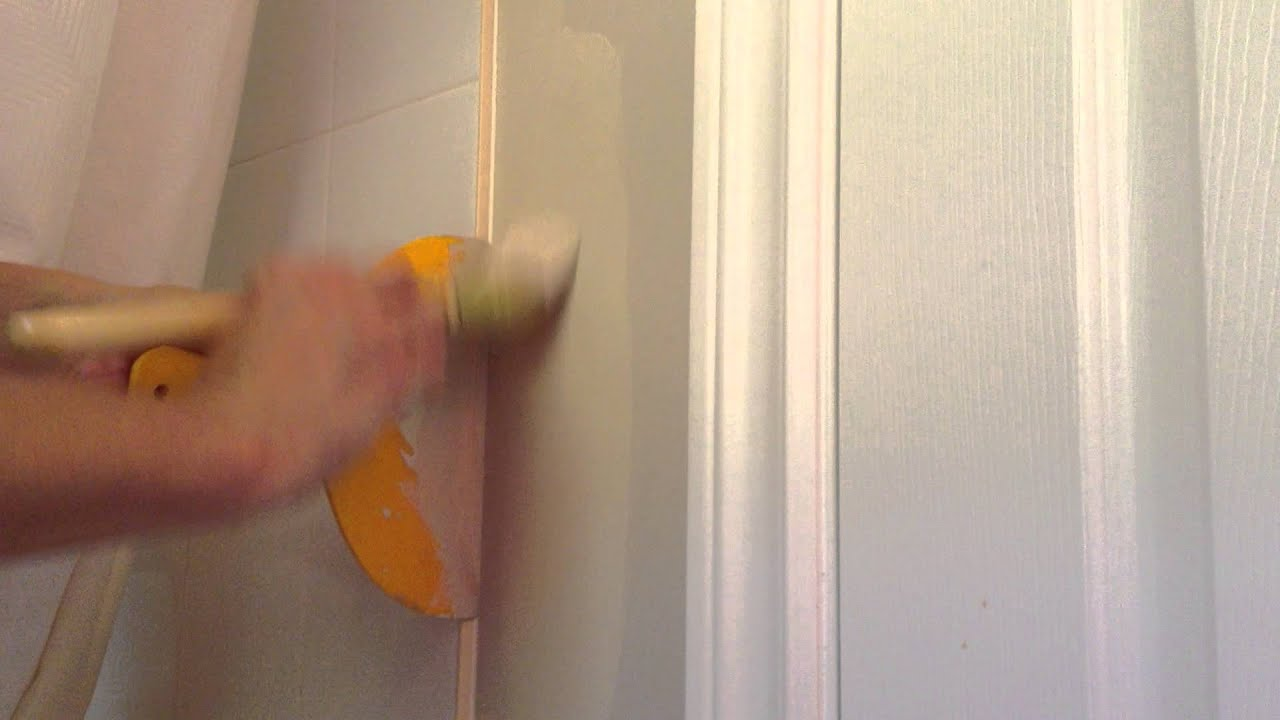 Painting Tip Cutting In Fastest Easiest Way No Mess Tape Ceilings Corners Moldings