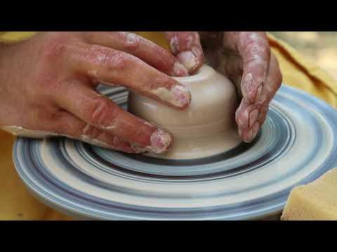 How to Make Clay Pots in Ukrainian Style | Как Делают Глиняную Посуду в Украинском Стиле