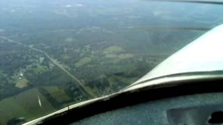 Boeing 727 1fr flight griffis to syracuse withils landing
