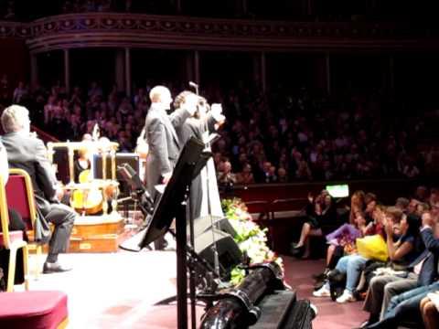 Netrebko, Schrott, Vargas - Royal Albert Hall London, 6.7.2012 - Curtain call