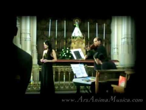 AVE MARÍA de Schubert, música de Iglesia para bodas (soprano, violín y órgano)