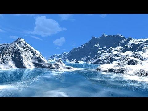 Creating ice mountain in Maya