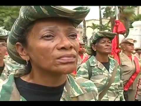 Conmemoran Día de la Milicia Nacional Bolivariana, acto completo, 17 abril 2017