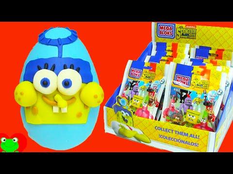 SpongeBob Out of Water MegaBlok Blind Bags