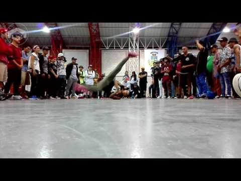Bboy Nano (CR) vs Bboy Friek (MX)-Time of Battle (Cypher City)
