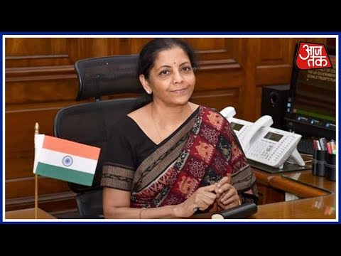 Defence Minister Nirmala Sitharaman On Aaj Tak's My India Exit Poll