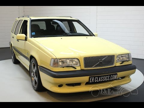 Volvo 850 T-5 R Station 1994 -VIDEO- Www.ERclassics.com