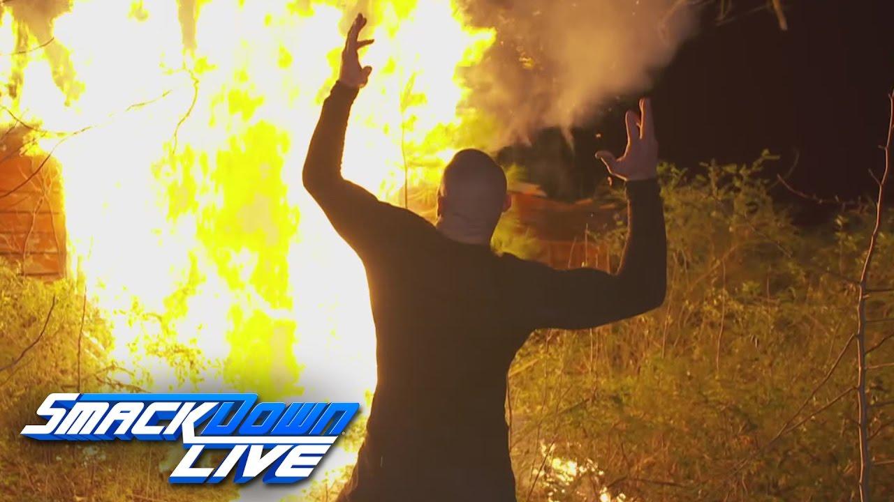Randy Orton burns down the Wyatt Family Compound: SmackDown LIVE: Feb. 28,  2017 - YouTube