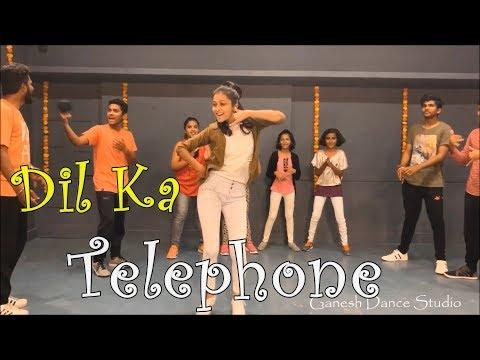Dil Ka Telephone  Dream Girl  Bollywood Dance  Choreography Ganesh Manwar