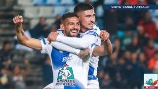 Con póker de Víctor Guzmán y doblete de Franco Jara Pachuca vence 6-2 a Necaxa en el Estadio Hidalgo