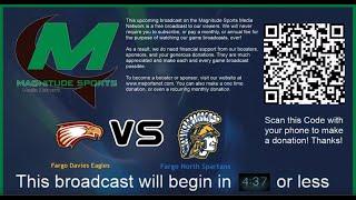 Game #640 Fargo Davies Eagles VS Fargo North Spartans (1-28-2020 - Boys Basketball)