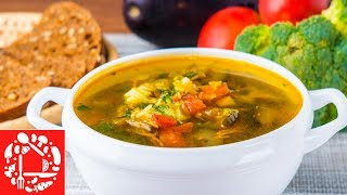 Нужно готовить прямо Сейчас! Самый вкусный Суп с баклажанами!