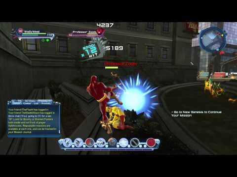 DCUO - The Flash Vs. Professor Zoom