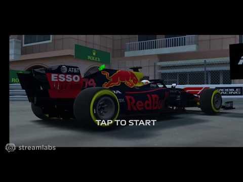 Monaco Qualification lap #1 F1 Mobile Racing