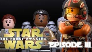 The ACTUAL Movie Begins! | Lego Force Awakens | Episode III