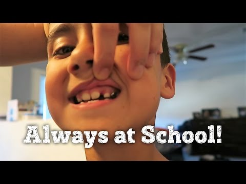 WHAT HAPPENED?   ALWAYS AT SCHOOL   PHILLIPS FamBam Vlogs