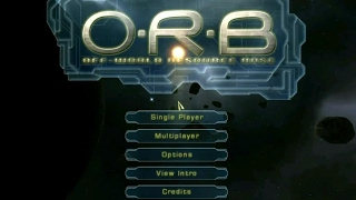 O.R.B.: Off-World Resource Base gameplay (PC Game, 2002)