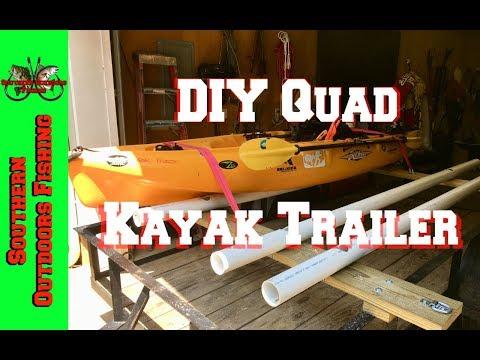 Quad DIY Kayak Trailer Build