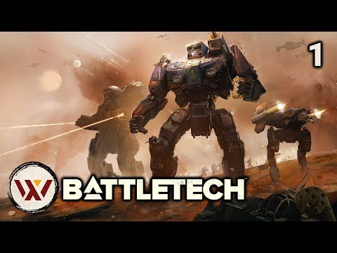 First Five Hours - #1 BATTLETECH Let's Play Campaign Gameplay