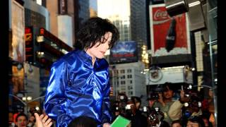 Michael Jackson autograph session at the release of the album Invincible