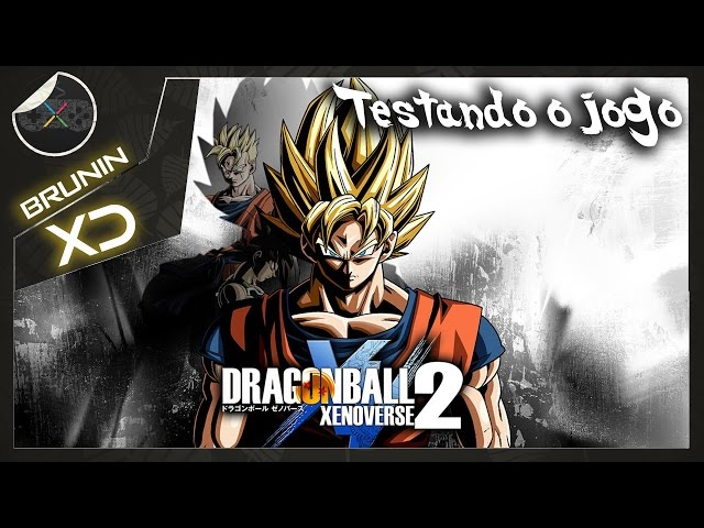 Dragon Ball Xenoverse 2 - Testando o jogo