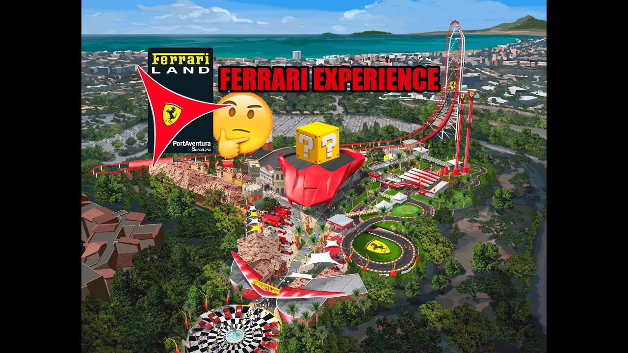 191 Mysterious Attraction Ferrari Land Portaventura Youtube