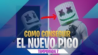 How to get Marshmello's peak and dance for FREE - Challenges Fortnite