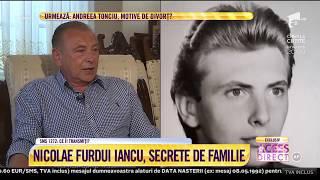 Nicolae Furdui Iancu a făcut, în PREMIERĂ, dezvăluiri de suflet!