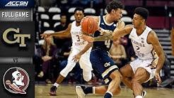 Georgia Tech vs. Florida State Full Game | 2019-20 ACC Men's Basketball