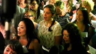 choir! choir! choir! sings Solange - Losing You