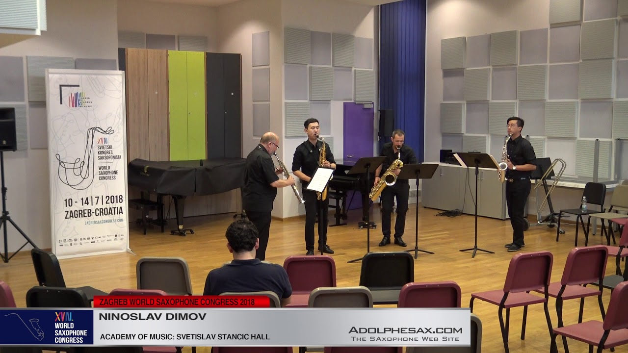 The crowd by Vanja Nikolovski Gjumar    Ninoslav Dimov   XVIII World Sax Congress 2018 #adolphesax