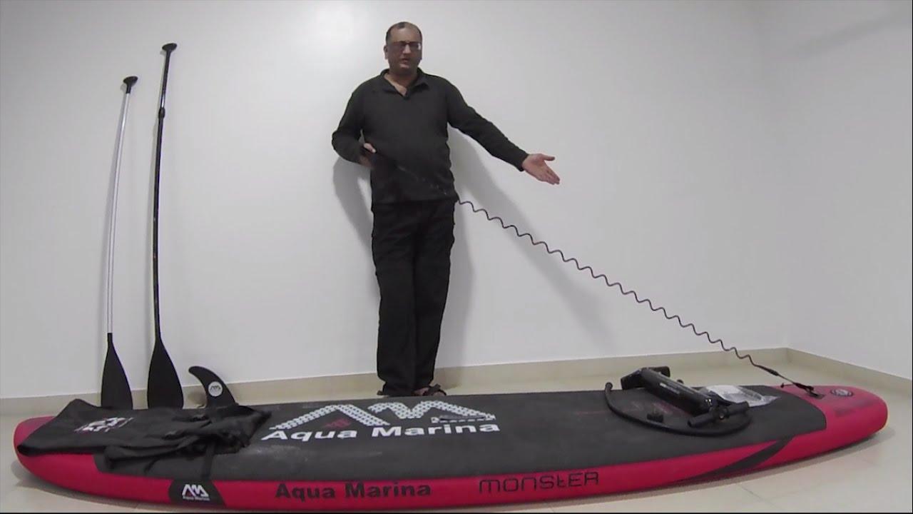 suprising supathlete aqua marina inflatable stand up paddle sup youtube. Black Bedroom Furniture Sets. Home Design Ideas