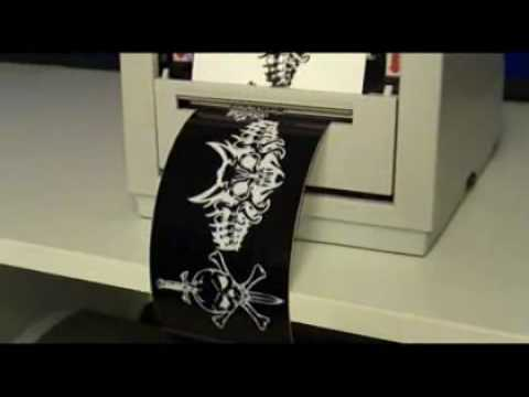 Bumper Sticker Printer YouTube - Car decal maker machine