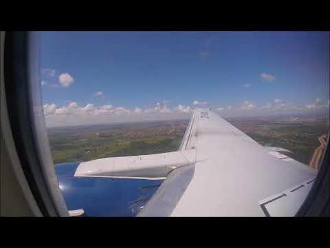 Landing at Santa Cruz Viru Viru Bolivia Boeing 737 300 Boliviana de Aviacion