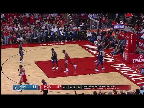4th Quarter, One Box Video: Houston Rockets vs. Minnesota Timberwolves