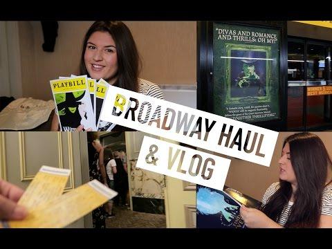 Broadway Haul & Vlog!