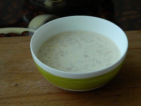 Овсяная каша на молоке
