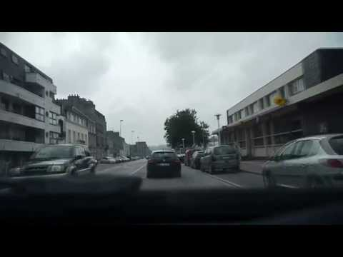 Driving in Cherbourg
