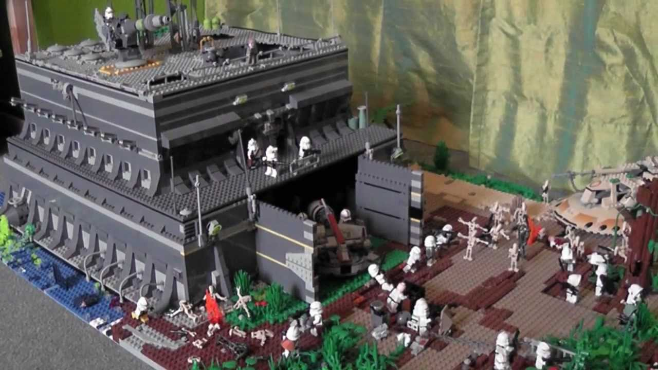 Lego Star Wars Clone Base On Endor 3rd Place In Legoboy12345678s