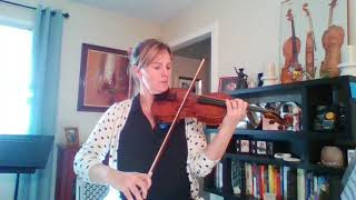 2018 GMEA All State Middle School Orchestra Violin Excerpt 1