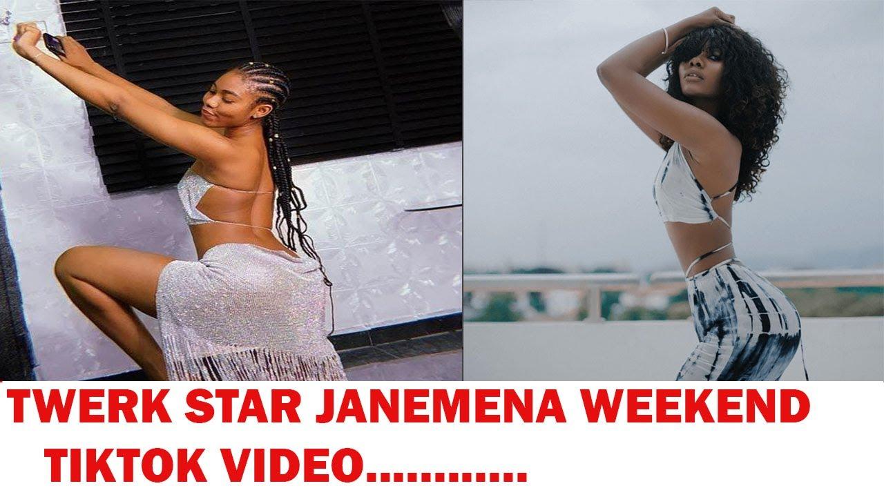 Download TWERK STAR JANEMENA WEEKEND TIKTOK VIDEO.....