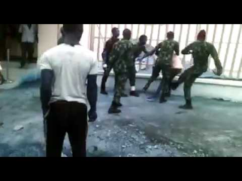 Navy Personnel beat man, Corp member in Ondo State
