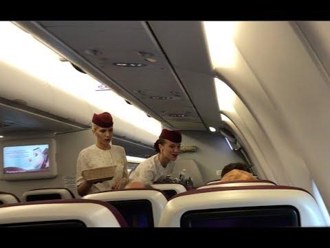 Qatar Airways Flight Experience: QR919 Yangon to Doha #2