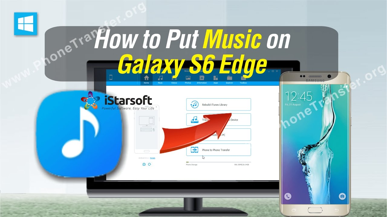 How to Put Music on Galaxy S6 Edge, Put Songs on Samsung ...
