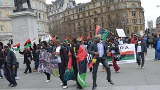 Biafra: IPOB Confront UK Police in London