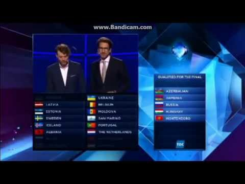 San Marino qualifies for Eurovision final