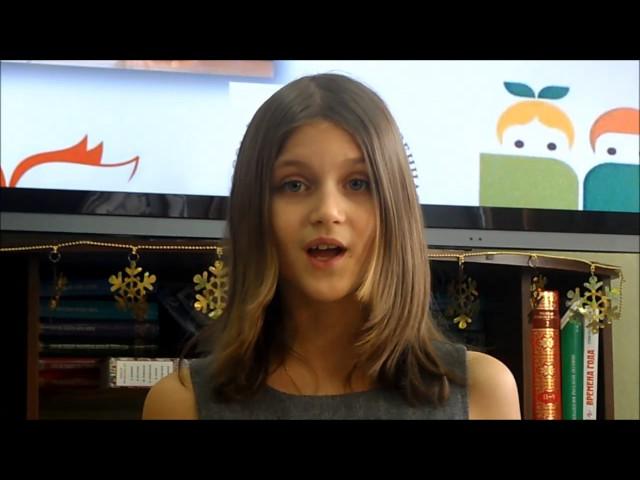 Изображение предпросмотра прочтения – АннаПисаная читает произведение «Некрасивая девочка» Н.А.Заболоцкого