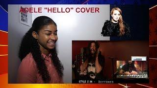 """Baixar Adele """"Hello"""" Ten Second Songs 25 Style Cover Reaction"""