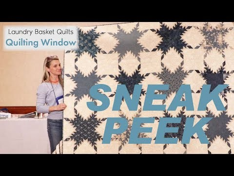 Quilting Window Episode 13 -  Blue/White Quilts Live From Retreat