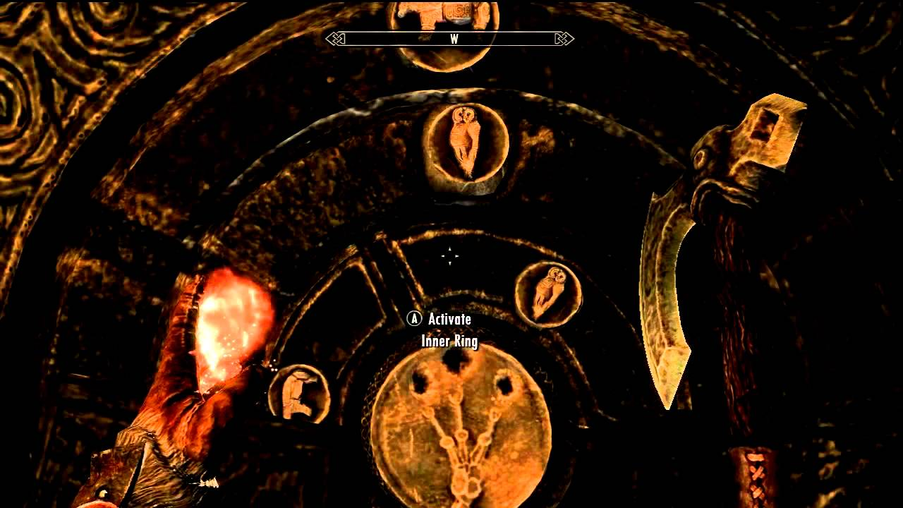 Skyrim Gameplay! The Golden Claw Quest How to solve Puzzle 2!
